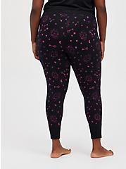 Plus Size Sleep Legging - Stars & Skulls Black, MULTI, alternate