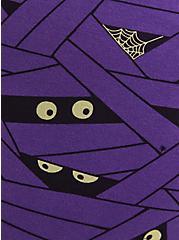 Plus Size Sleep Legging - Mummy Wrap Purple, MULTI, alternate