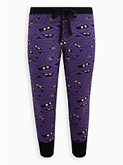 Plus Size Sleep Legging - Mummy Wrap Purple, MULTI, hi-res