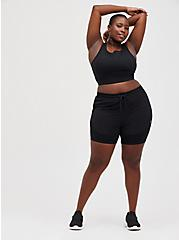 2Fer Active Short - Black, DEEP BLACK, alternate