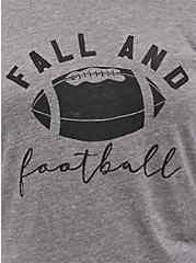 Classic Fit Raglan Top - Triblend Jersey Fall And Football Grey, MEDIUM HEATHER GREY, alternate