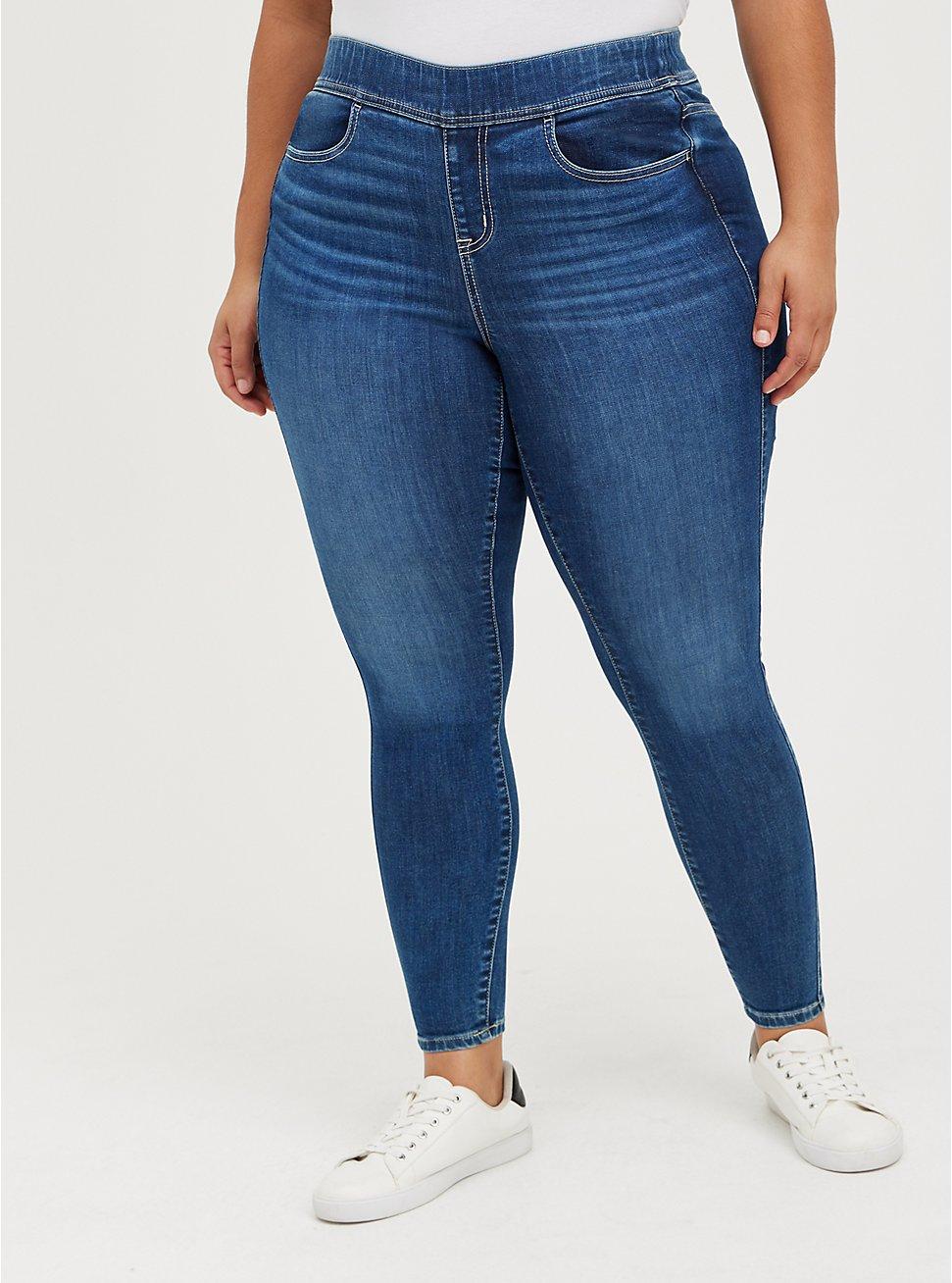 Lean Jean - Super Soft Medium Wash, JUPITER, hi-res