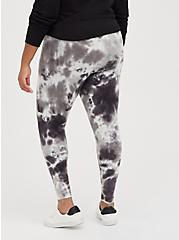 Premium Legging - Pour Tie Dye Grey, TIE DYE, alternate