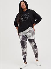 Premium Legging - Pour Tie Dye Grey, TIE DYE, hi-res
