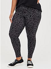 Premium Legging - Grey Leopard, ANIMAL, alternate