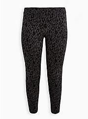 Premium Legging - Grey Leopard, ANIMAL, hi-res