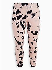 Breast Cancer Awareness Legging - Fleece Lined Pink Tie Dye, TIE DYE, hi-res