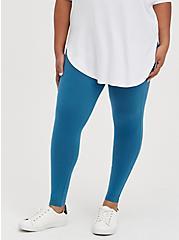 Plus Size Premium Legging - Midnight Blue, BLUE, alternate