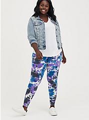 Premium Legging - Pour Tie Dye Blue, TIE DYE, hi-res