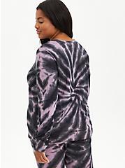 Active Sweatshirt - Cupro Tie Dye Grey , TIE DYE, alternate