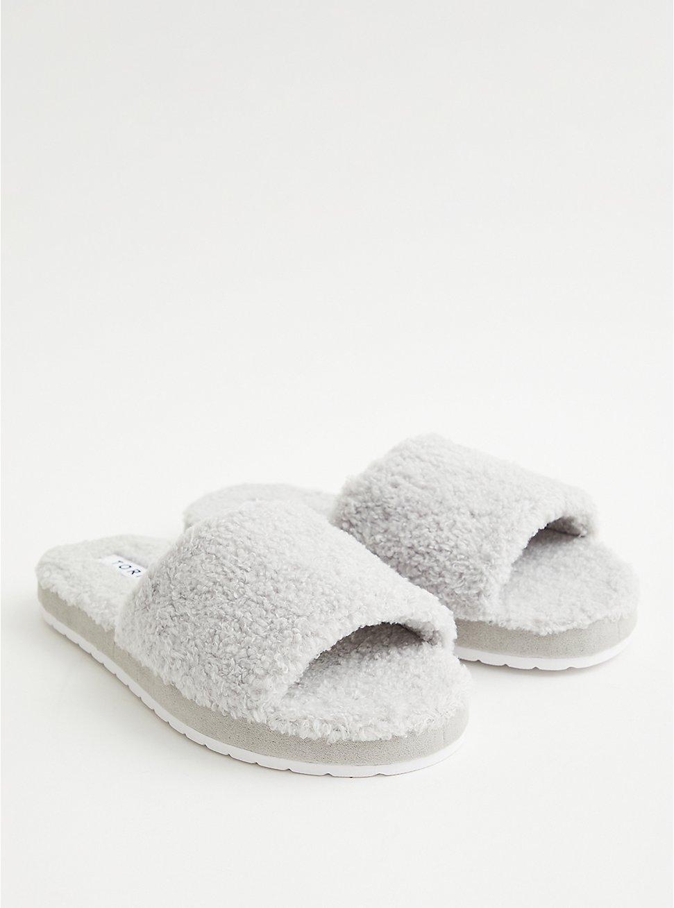 Slide - Shearling Grey, GREY, hi-res