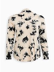 Plus Size Hoodie Tee - Super Soft Blush Tie Dye, TIE DYE-PINK, hi-res