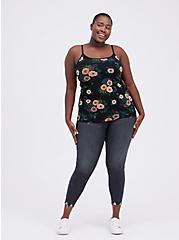 Foxy Tunic Cami - Floral Black, OTHER PRINTS, alternate
