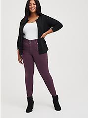 Classic Cardigan Sweater - Ultra Soft Black, DEEP BLACK, alternate