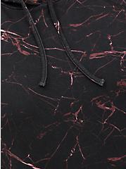 Hoodie - Everyday Fleece Black Marble, OTHER PRINTS, alternate