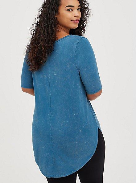 Favorite Tunic - Super Soft Mineral Wash Blue, , alternate