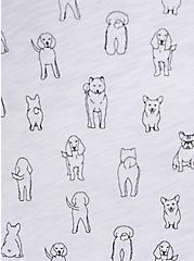 Classic Fit Pocket Tee - Heritage Slub Pups White , OTHER PRINTS, alternate