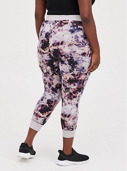 Classic Fit Active Jogger - French Terry Purple Tie Dye, TIE DYE, alternate