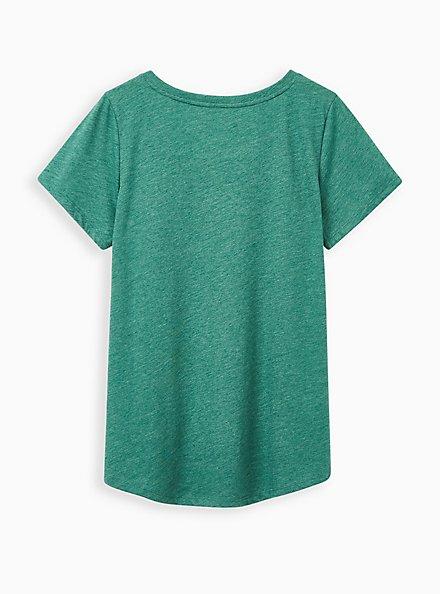 Girlfriend Tee - Signature Jersey Green, GREEN, alternate