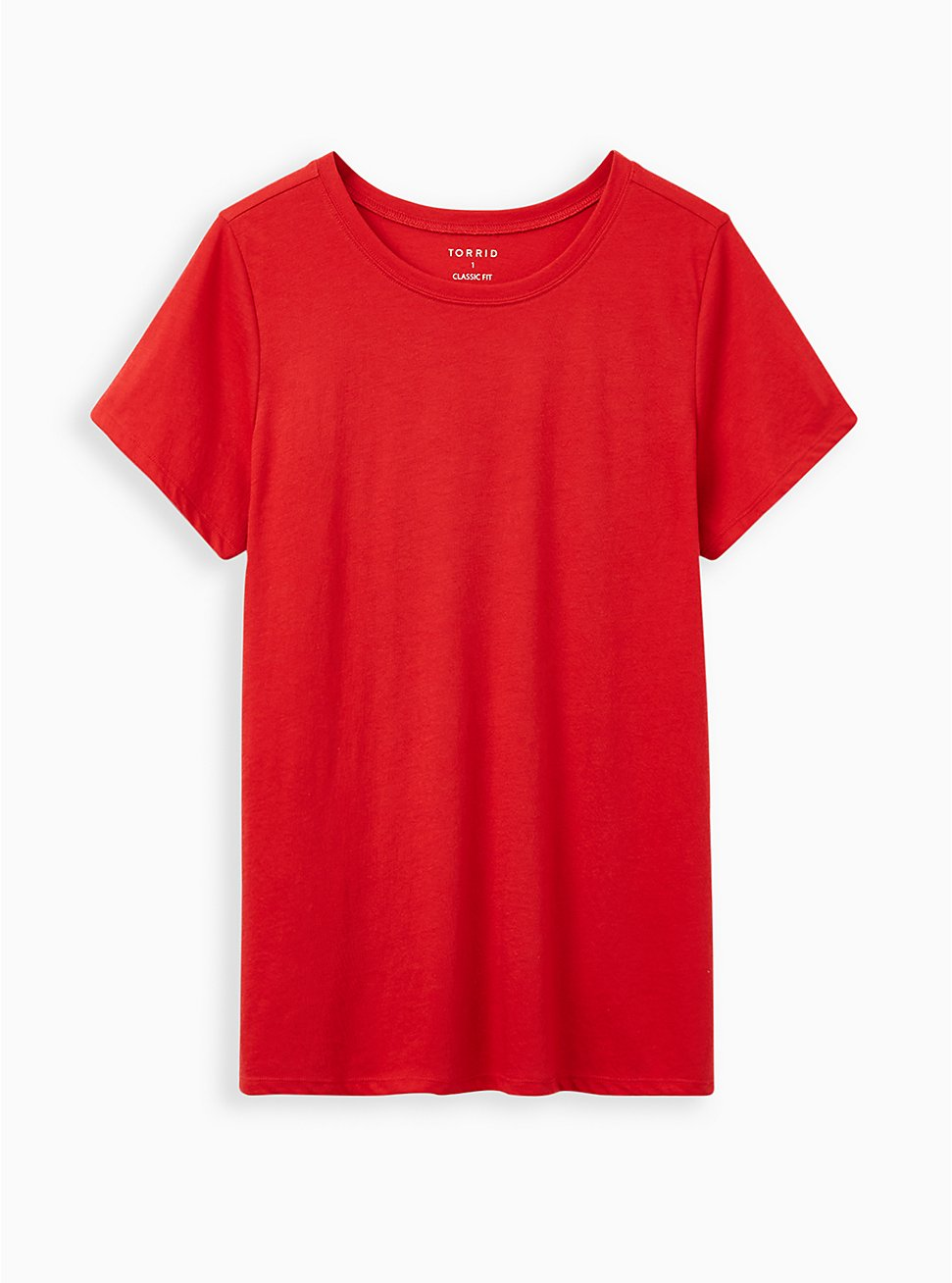 Everyday Tee - Signature Jersey Red, RED, hi-res