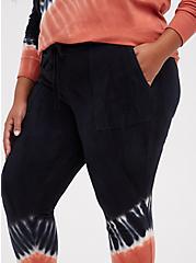 Classic Fit Jogger - Everyday Fleece Black & Rusty Brown Tie Dye, MULTI TIE DYE, alternate
