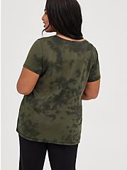 Everyday Tee - Signature Jersey Creep It Real Tie-Dye Green, DEEP DEPTHS, alternate