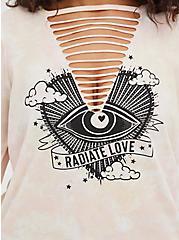 Classic Fit Slash Tee - Radiate Love Tie-Dye Pink, TIE DYE-PINK, alternate