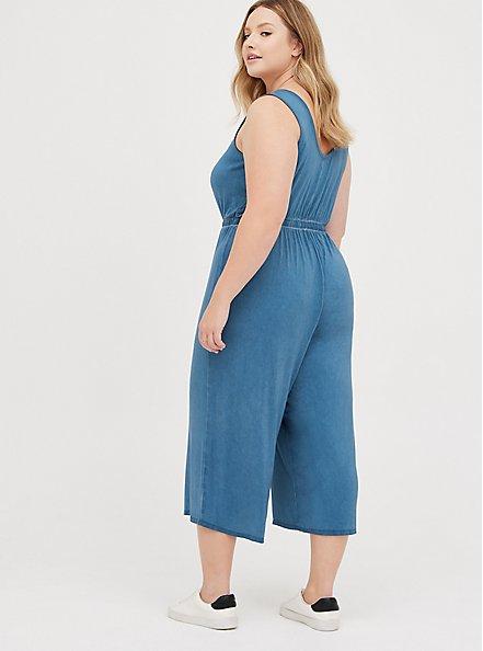 Jumpsuit - Super Soft Mineral Wash Blue, TIE DYE-BLUE, alternate