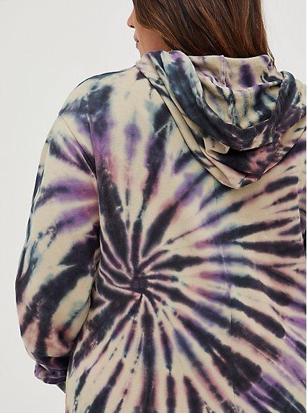Hooded Dress - French Terry Multi Tie Dye, TIE DYE, alternate