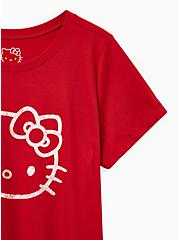 Slim Fit Crew Tee - Signature Jersey Hello Kitty Red, RED, alternate