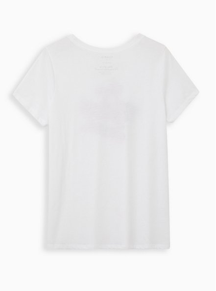 Everyday Tee - Signature Jersey White Cool Aunt, BRIGHT WHITE, alternate
