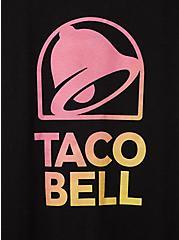 Slim Fit Crew Tee - Taco Bell Black, DEEP BLACK, alternate