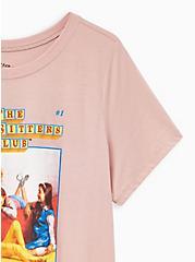 Slim Fit Crew Tee – Babysitters Club Pink , DUSTY QUARTZ, alternate