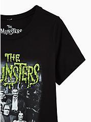 Slim Fit Crew Tee - Signature Jersey The Munsters Black, DEEP BLACK, alternate