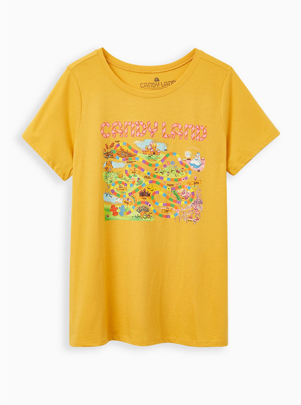 Slim Fit Crew Tee - Candyland Yellow, SUNDRESS, hi-res