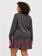 Sweatshirt - Fleece Daria Black, DEEP BLACK, alternate