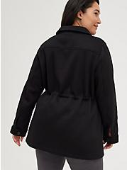 Shacket - Fleece Black, DEEP BLACK, alternate
