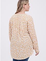 Blouse - Georgette Leopard White, LEOPARD-WHITE, alternate