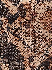 Ava Cami - Stretch Challis Multi Snake Print, SNAKE - BROWN, alternate