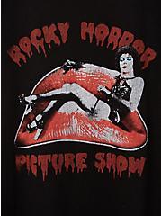 Classic Fit Ringer Tee - Rocky Horror Black , DEEP BLACK, alternate