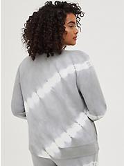 Sleep Sweatshirt - Micro Modal Tie Dye Grey, MULTI, alternate