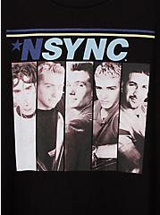 Classic Fit Crew Tee - N'Sync Black, DEEP BLACK, alternate