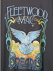 Classic Fit Crew Tee - Fleetwood Mac Dreams Vintage Black, VINTAGE BLACK, alternate