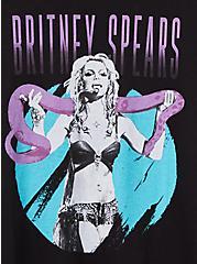 Classic Fit Crew Tee - Britney Spears Black, DEEP BLACK, alternate
