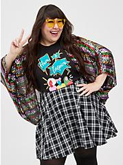 #TorridStrong Classic Fit Everyday Tee - Signature Jersey Here to Inspire Black, DEEP BLACK, alternate