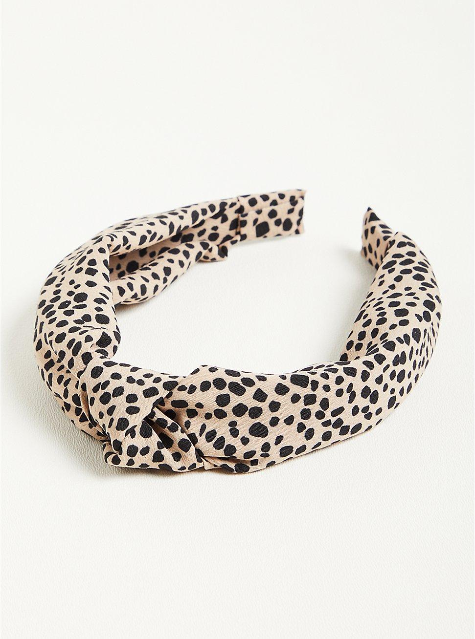 Knot Headband - Leopard, , hi-res