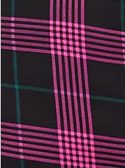 Abbey - Georgette Plaid Pink, PLAID - PINK, alternate