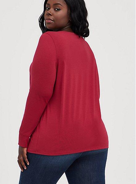 Everyday Tee - Signature Jersey Deep Red, RUMBA RED, alternate