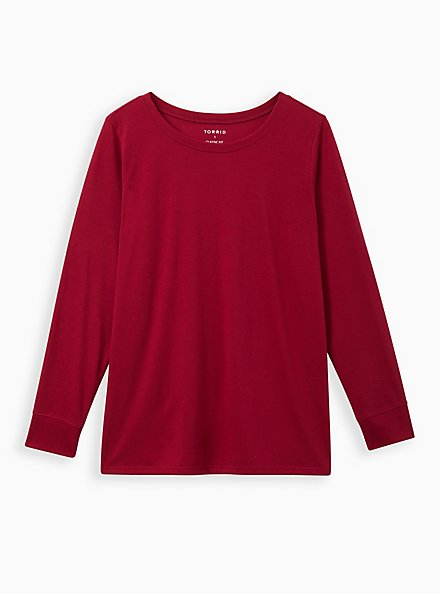 Everyday Tee - Signature Jersey Deep Red, RUMBA RED, hi-res