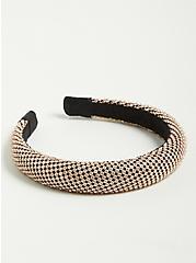 Allover Rhinestone Headband, , hi-res